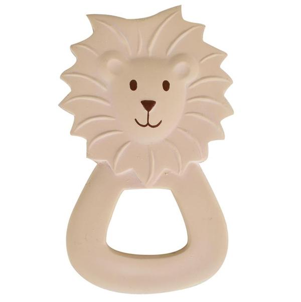 Tikiri - Anneau de dentition lion en caoutchouc naturel