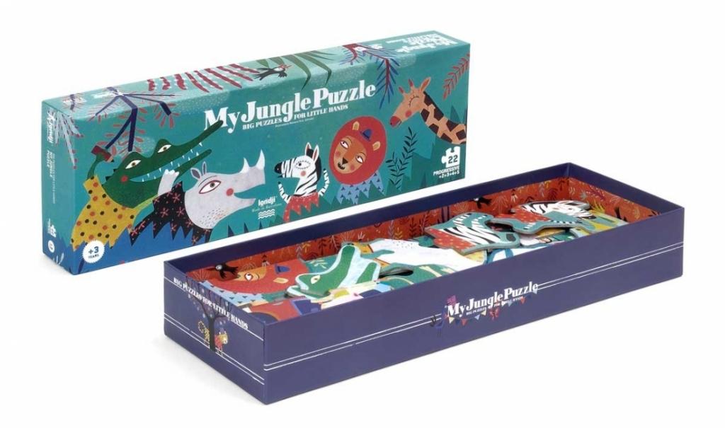 Londji - Puzzle Evolutif Jungle