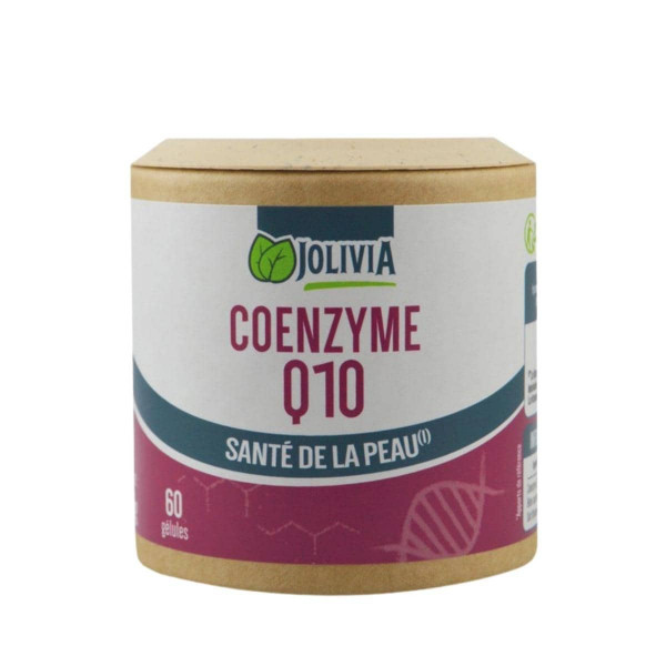 Jolivia - Coenzyme Q10 - 60 gélules végétales