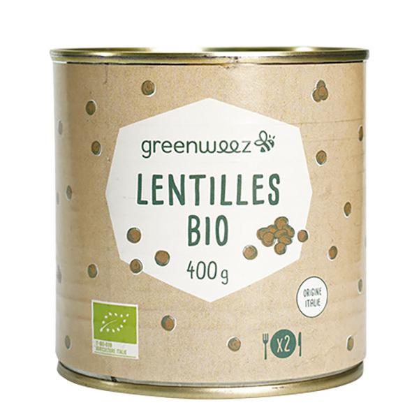 Greenweez - Lentilles bio origine Italie 400g