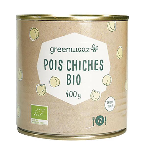 Greenweez - Pois chiches bio origine Italie 400g