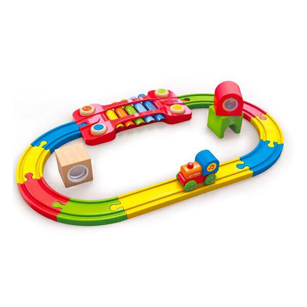 Hape - Chemin de fer sensoriel - Dès 18 mois