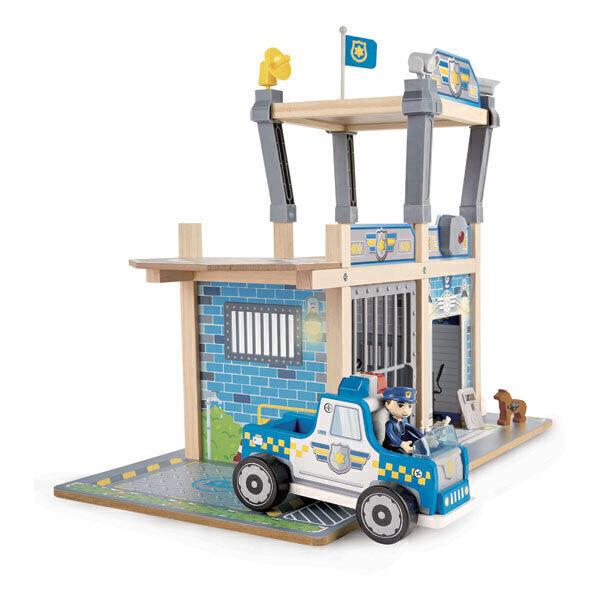 Hape - Commissariat de police et accessoires - Dès 3 ans