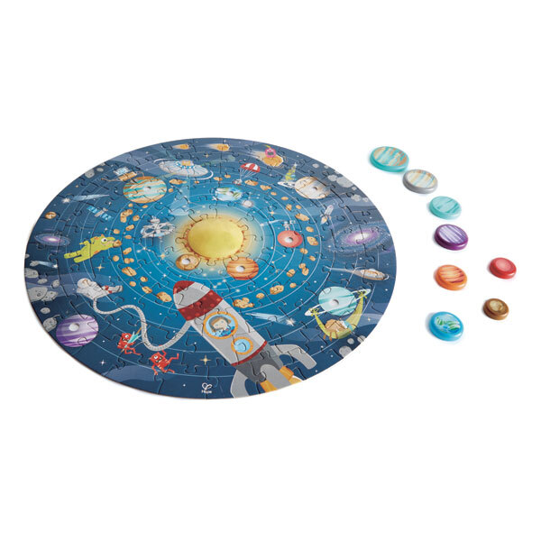 Hape - Puzzle système solaire - Dès 5 ans