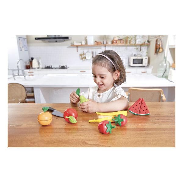 Hape - Set de fruits à découper - Dès 3 ans