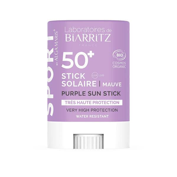 Laboratoires de Biarritz - Stick solaire Mauve SPF50+ 12g