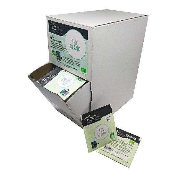 Touch Organic - Thé blanc grande boîte 160 sachets