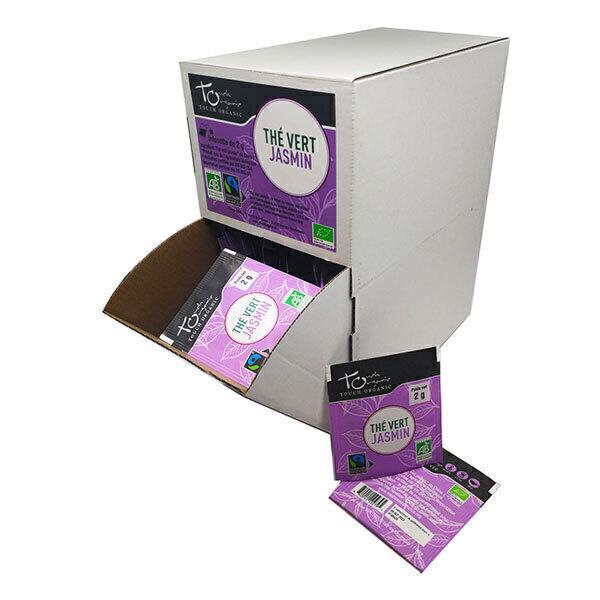 Touch Organic - Thé vert jasmin grande boîte 160 sachets