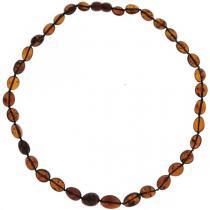 BalticWay - Collar de Ámbar Cherry en Olivas Planas Adulto