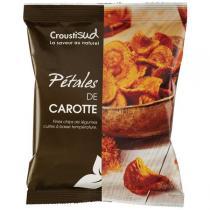 Croustisud - Chips Pétales de Carotte 70g