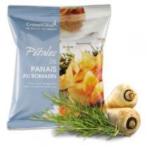 Croustisud - Chips Pétales de Panais au Romarin 70g