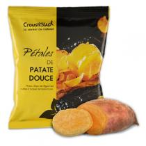 Croustisud - Unsalted organic sweet potato chips 70g