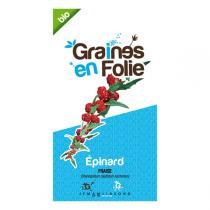 Graines en Folie - Graines d'Epinard Fraise