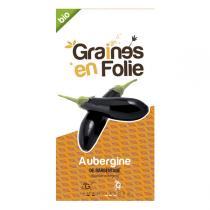 Graines en Folie - Graines de Aubergine De Barbentane