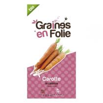 Graines en Folie - Graines de Carotte De Carentan