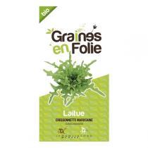Graines en Folie - Graines de Laitue Cressonnette Marocaine