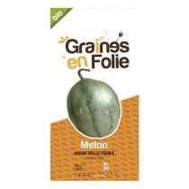 Graines en Folie - Graines de Melon Ancien Vieille France