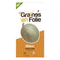 Graines en Folie - Graines de Melon Sucrin De Tours
