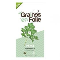 Graines en Folie - Gigante d'Italia Parsley Seeds 2g