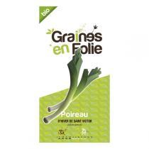 Graines en Folie - Graines de Poireau D'Hiver De St-Victor
