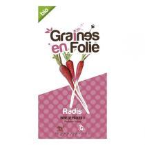 Graines en Folie - Graines de Radis Rosé de Pâques