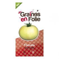 Graines en Folie - Graines de Tomate Beaute Blanche