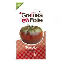 Graines en Folie - Graines de Tomate Noire Russe