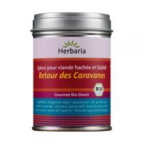 Herbaria - Retour des caravanes épices viandes hachées et falafel 90g