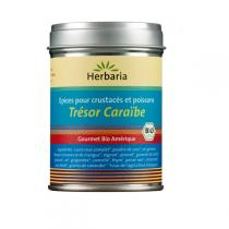 Herbaria - Trésor de caraïbe - épices poissons, crustacés 100g