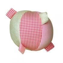 Keptin-Jr - Balle rose à étiquettes