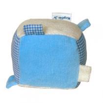 Keptin-Jr - Cube bleu à étiquettes