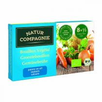 Natur Compagnie - Natur Compagnie Vegetable bouillon, without added salt