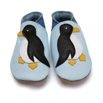 Starchild - Baby Blue Penguin Leather shoes