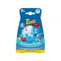 Tinti - Colorant pour le bain, 3 sachets - bleu, jaune et rouge