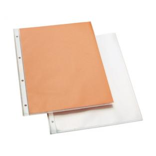 Eco Buro - 10 Transparent A4 File Pockets - Smooth