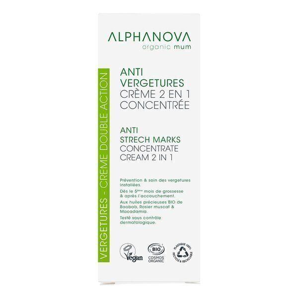 Alphanova - Soin Double Action Anti-Vergetures 150mL