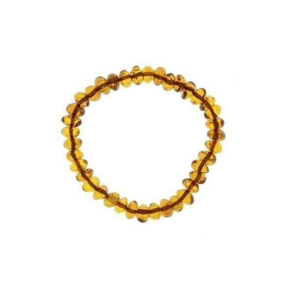 BalticWay - Adult Baroque Cognac Amber Bracelet