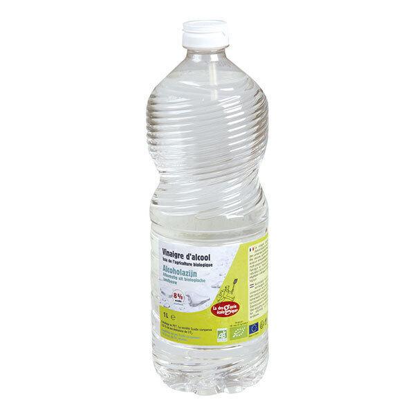 La Droguerie écologique - Vinaigre d'alcool 8% 1L