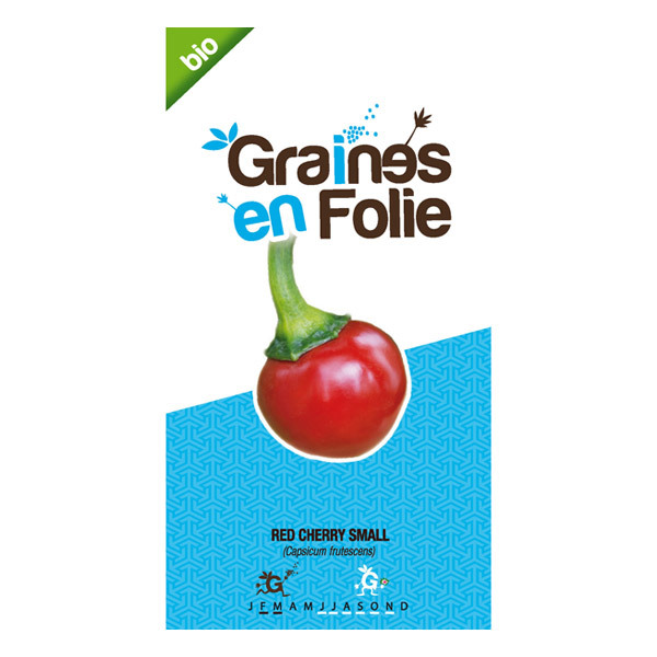 Graines en Folie - Graines de Piment Red Cherry Small
