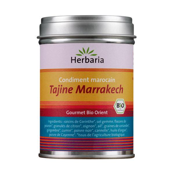 Herbaria - Tajine Marrakech - condiment marocain 100g