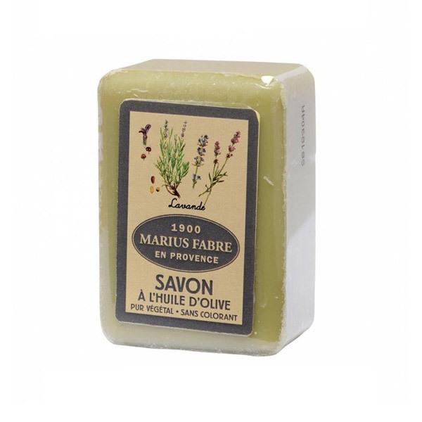 lavender olive oil soap 250g marius fabre shop online at. Black Bedroom Furniture Sets. Home Design Ideas