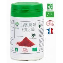 Bioptimal - Levure de riz rouge bio - Cholestérol Tension - 60 gélules