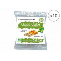 Good Cube - Biscuits bio abricots/noix de cajou - L'Ultra-Trail x10