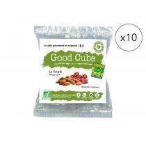 Good Cube - Biscuits bio amandes/cranberries - Le Smash x10