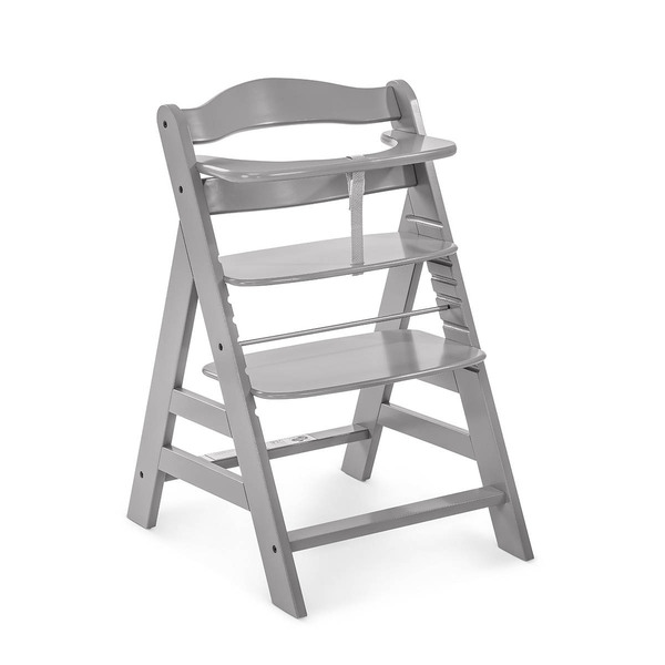 Hauck - Chaise Haute Alpha+ - Grey