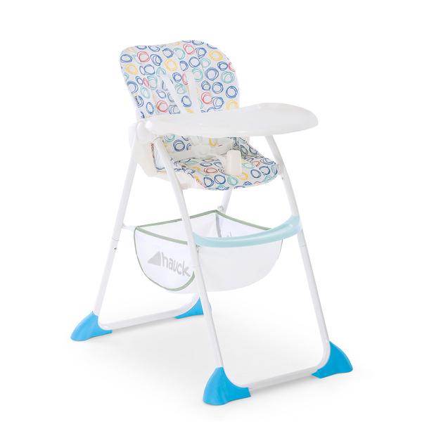 Hauck - Chaise Haute Sit'nFold - Circles multi