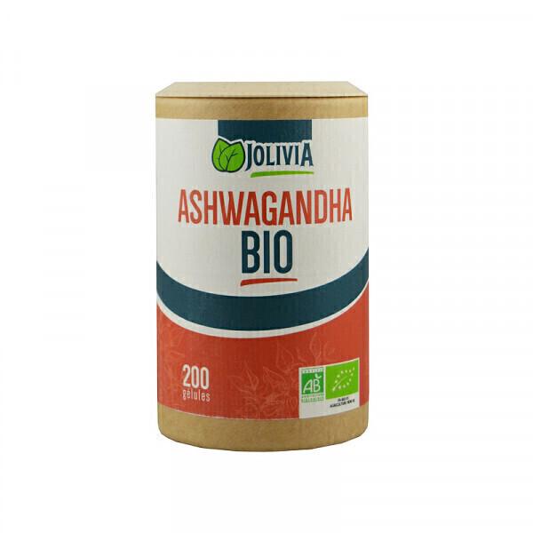 Jolivia - Ashwagandha Bio - 200 gélules végétales de 300 mg