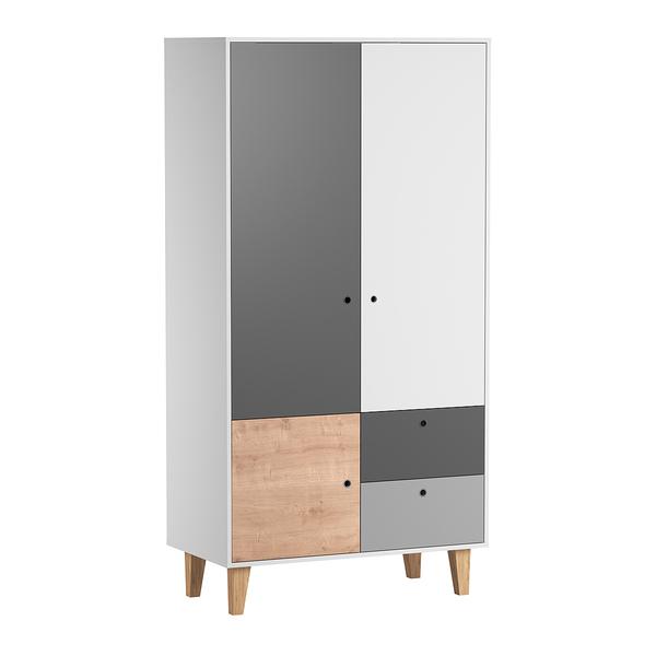 Vox - Armoire 2 portes Concept - Bois