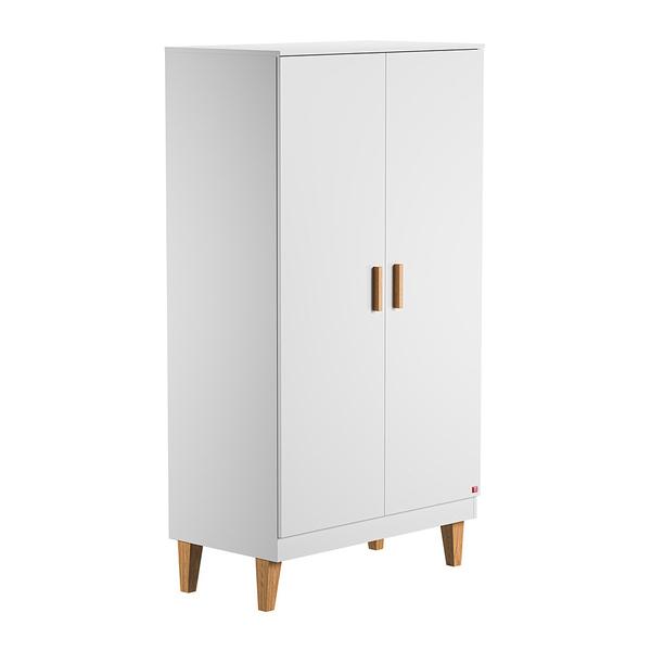 Vox - Armoire 2 portes Lounge - Blanc