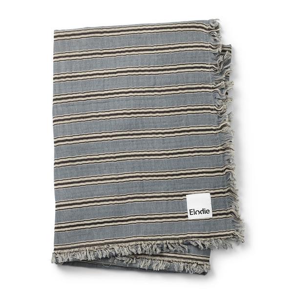 Elodie Détails - Couverture coton froissé